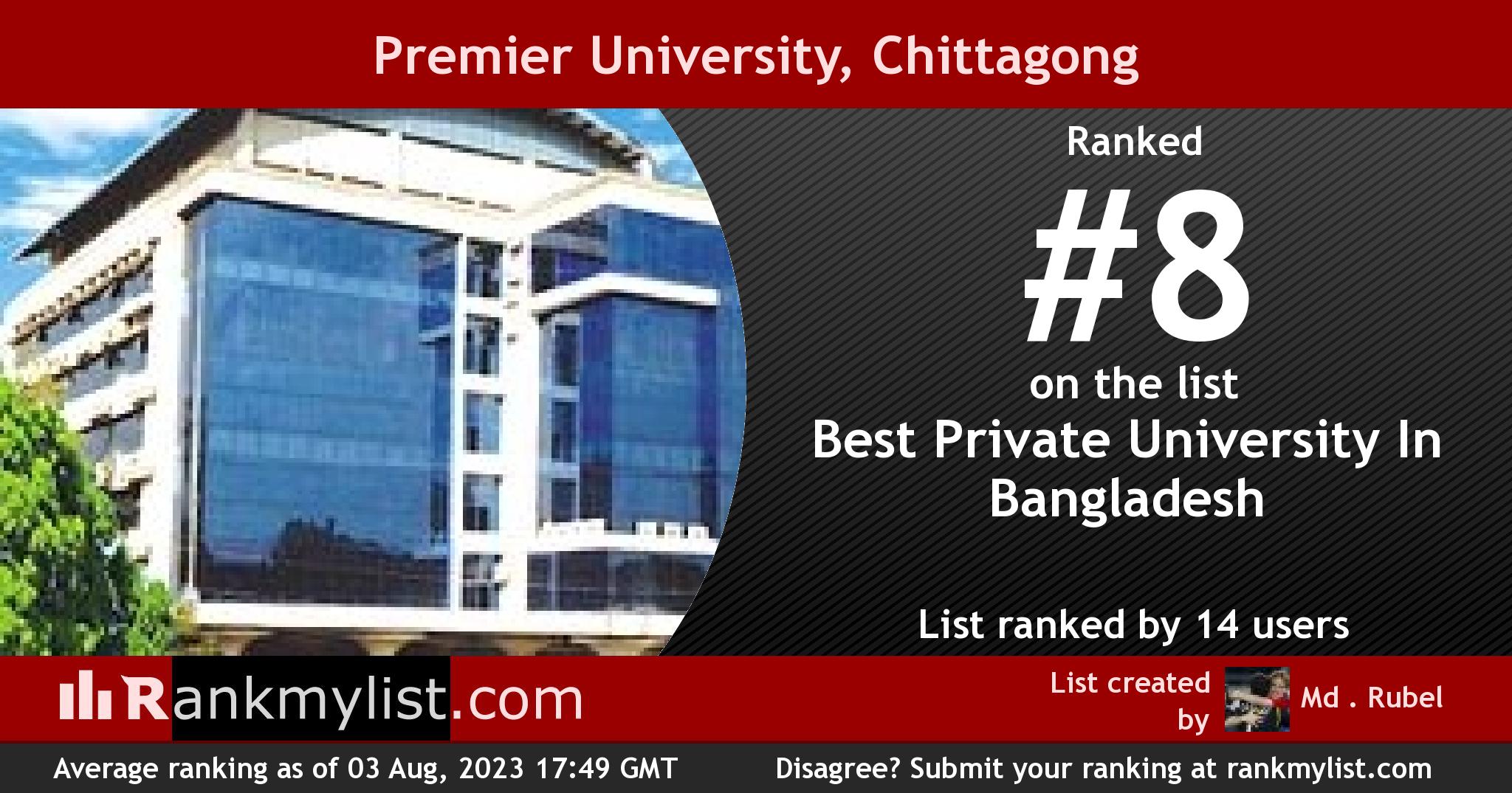 Best Private University In Bangladesh - Premier University