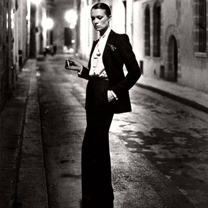 4a16542b5db1c Ranking the Most Iconic Fashion Pieces - Yves Saint Laurent Smoking ...