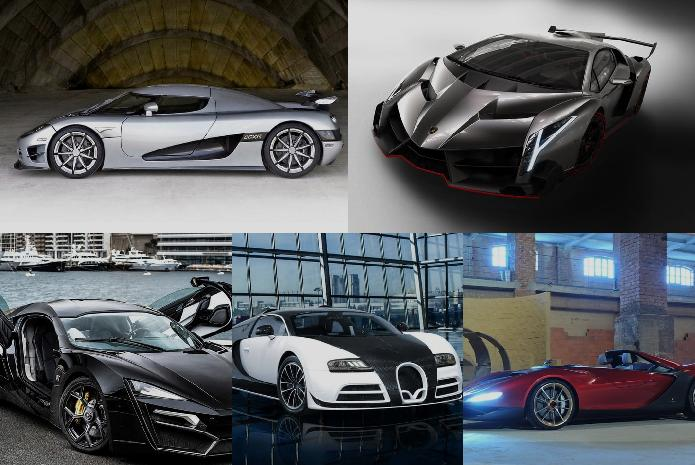 THE 5 MOST EXPENSIVE CARS IN THE WORLD. Himel_islam