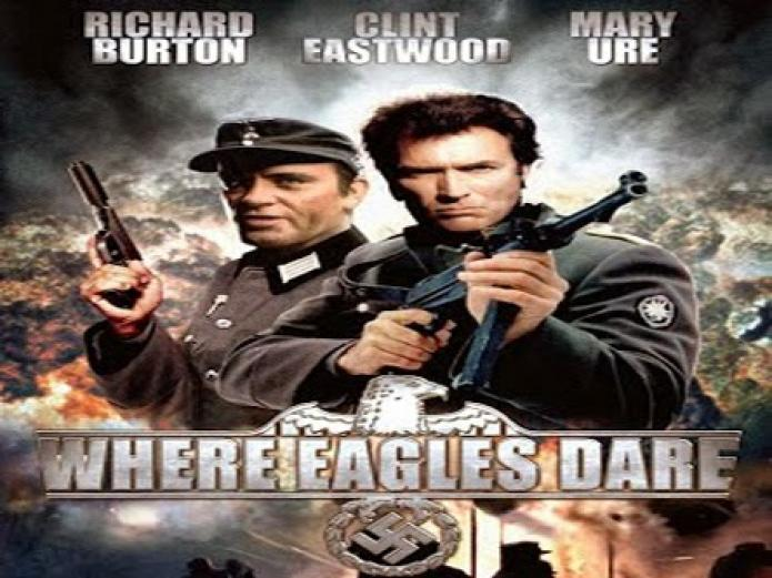 Best World War 2 Movies of All Time - Where Eagles Dare (1968)