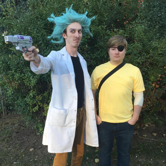 trending halloween costume ideas 2017 rick and morty