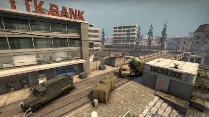 Overpass wall bang CSGO